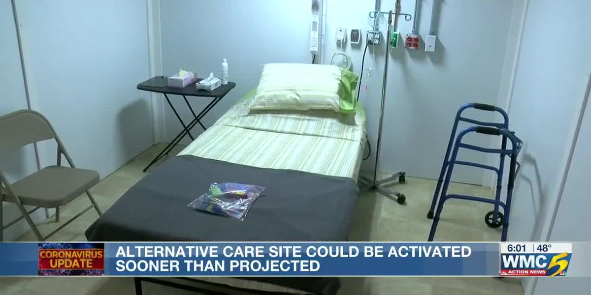 Alternative care site could be activated sooner than projected