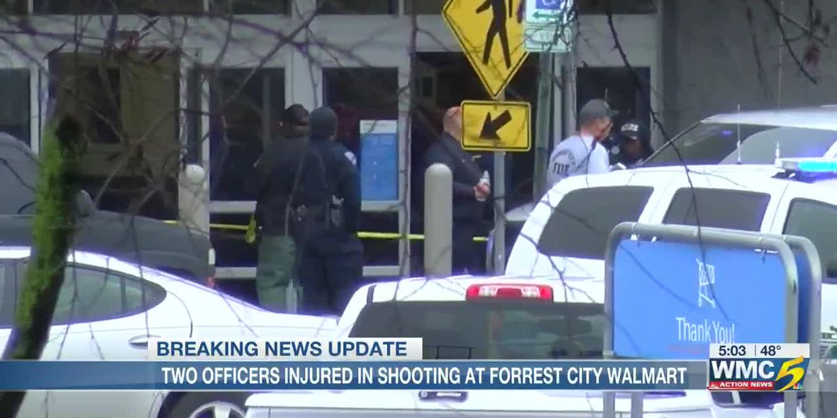 Officers injured in Forrest City Walmart shooting expected to recover
