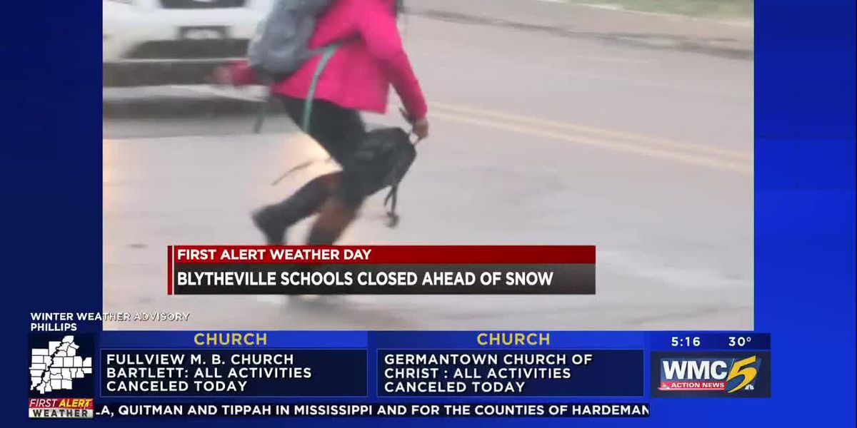 Blytheville schools closed ahead of snow