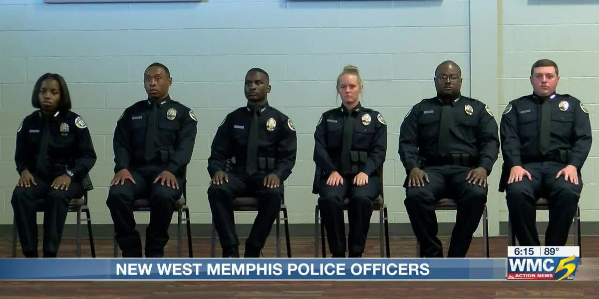 West Memphis Police Department welcomes new officers
