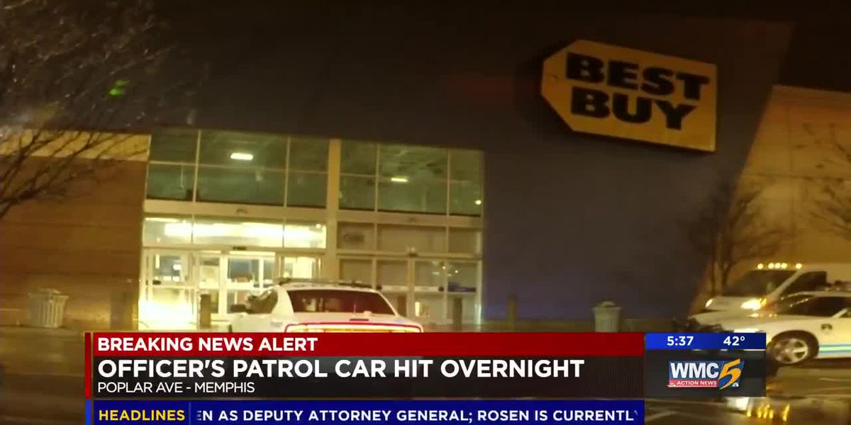 Suspect rams police cruiser while escaping store break-in