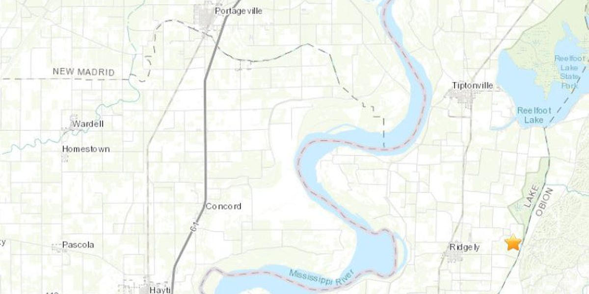 Magnitude 3.2 earthquake rattles in TN