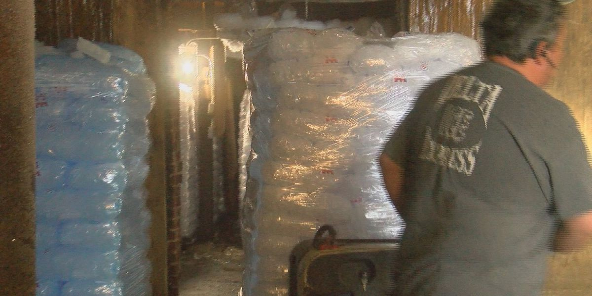 Local ice manufacturer takes advantage of summer heat