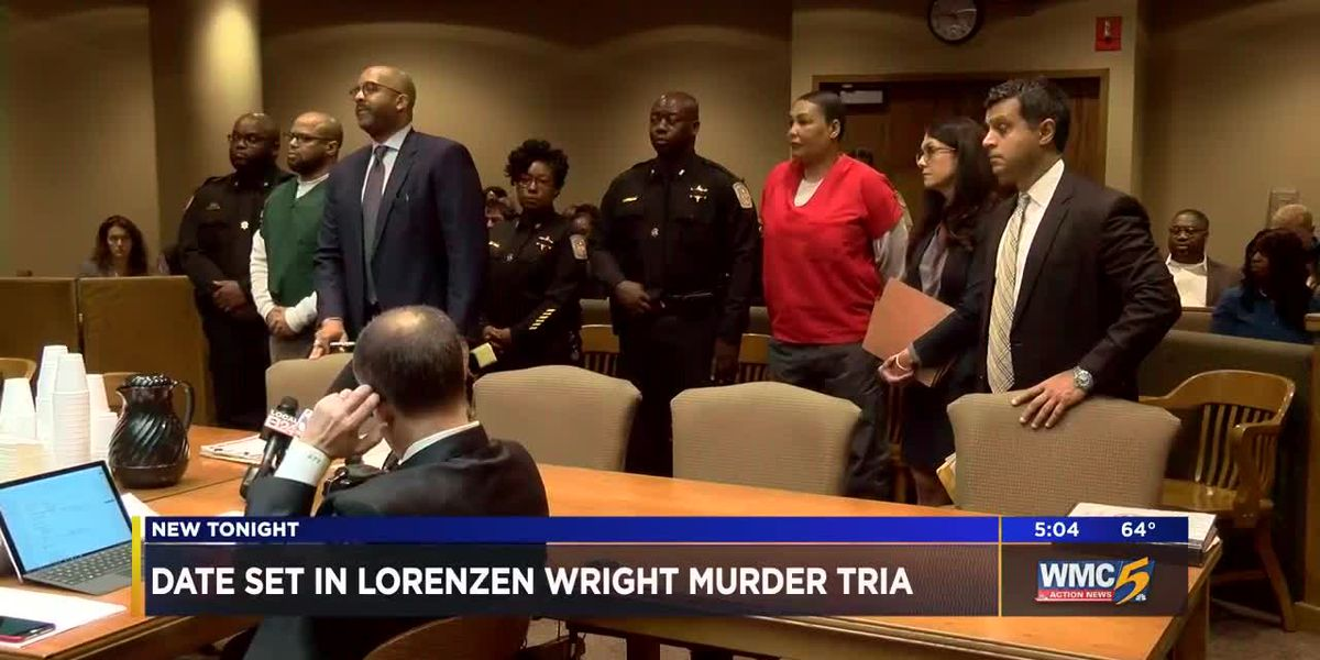 Trial date set for Lorenzen Wright murder trial