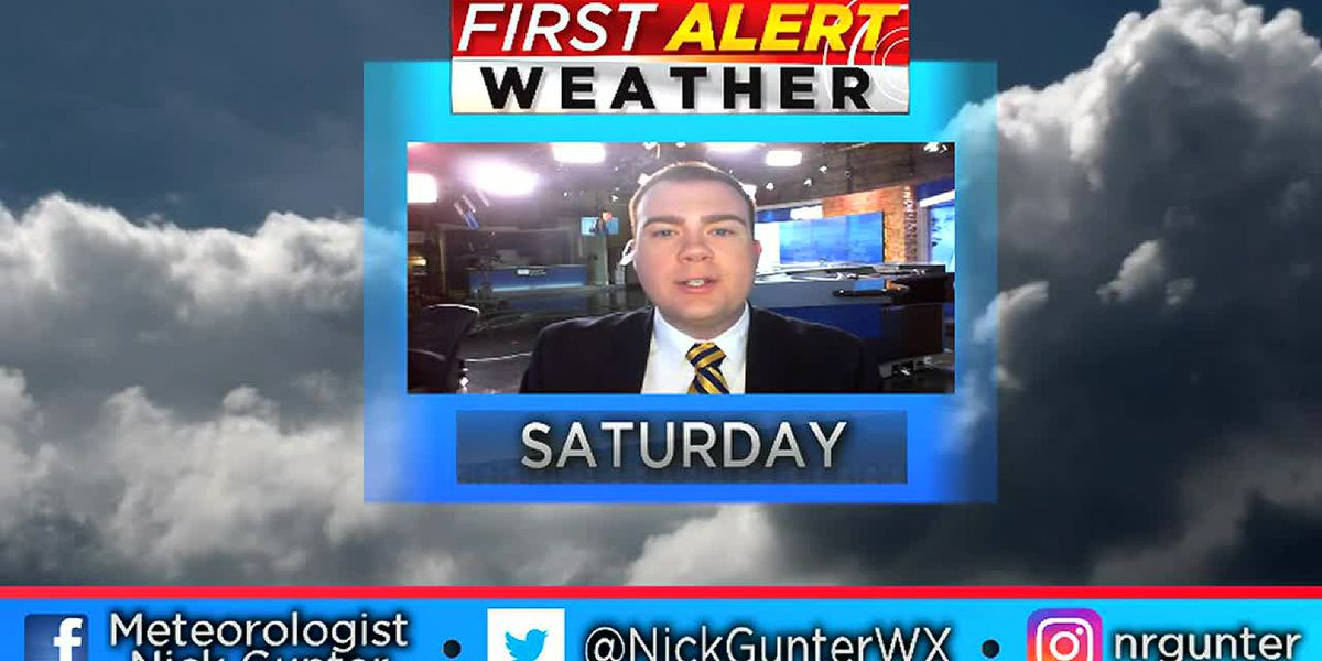 Saturday, October 20th, AM First Alert Forecast