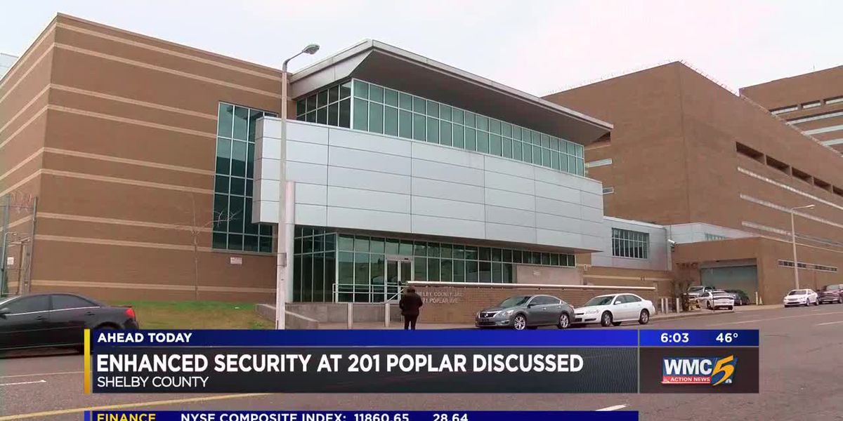 County leaders seek ways to beef security at 201 Poplar