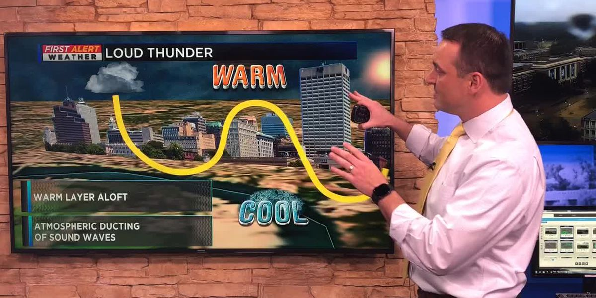 Why thunder sometimes sounds louder when it's colder outside