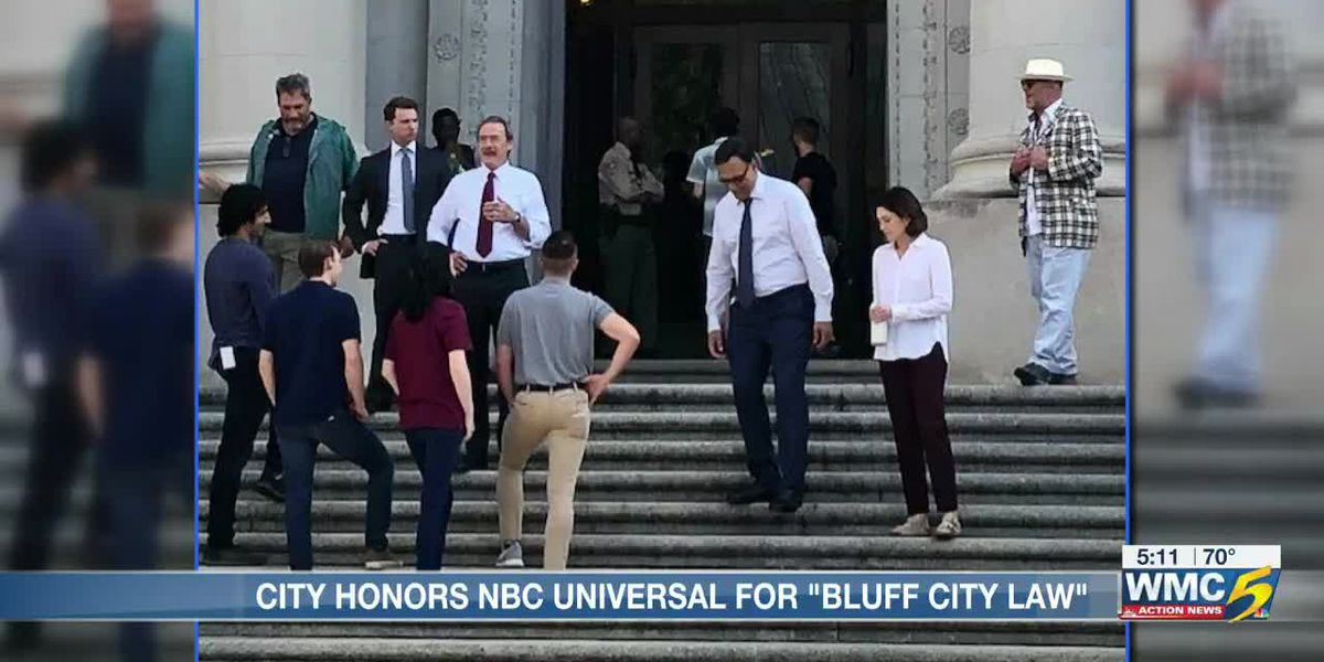 """NBC Universal honored by Memphis City Council for """"Bluff City Law"""""""