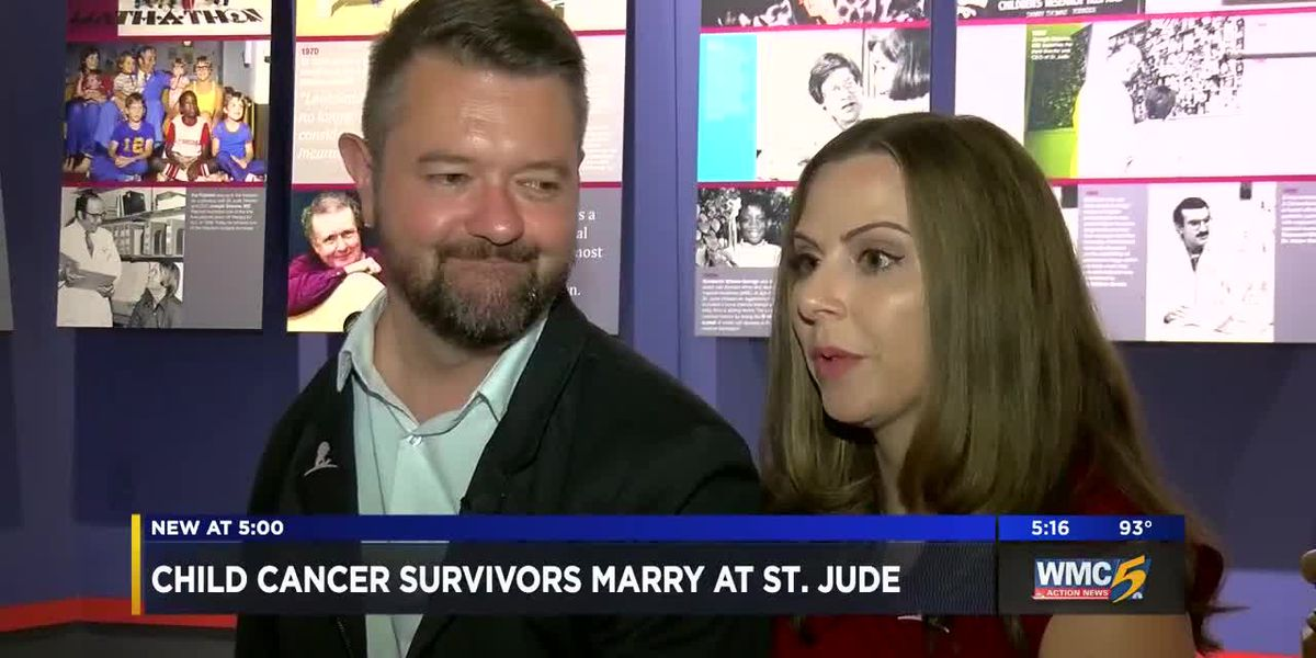 St. Jude employees marry years after meeting as patients
