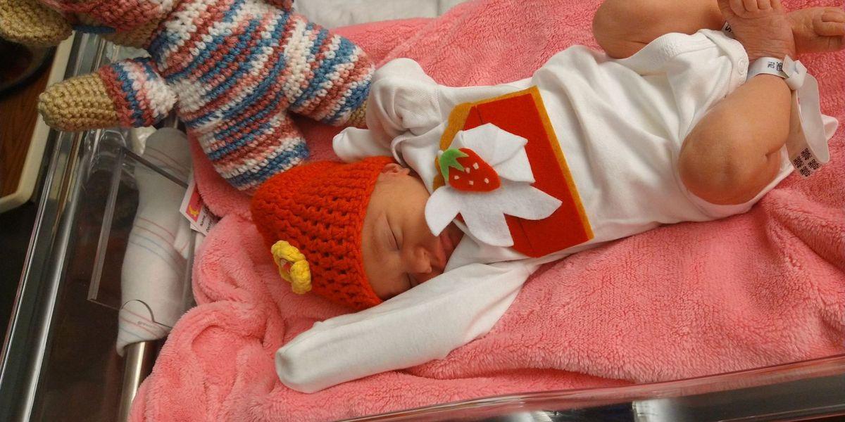 PHOTOS: Babies at Memphis hospital celebrate their 1st Thanksgiving