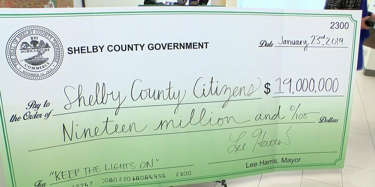 Shelby County receives $19M grant to help struggling families pay utility bills