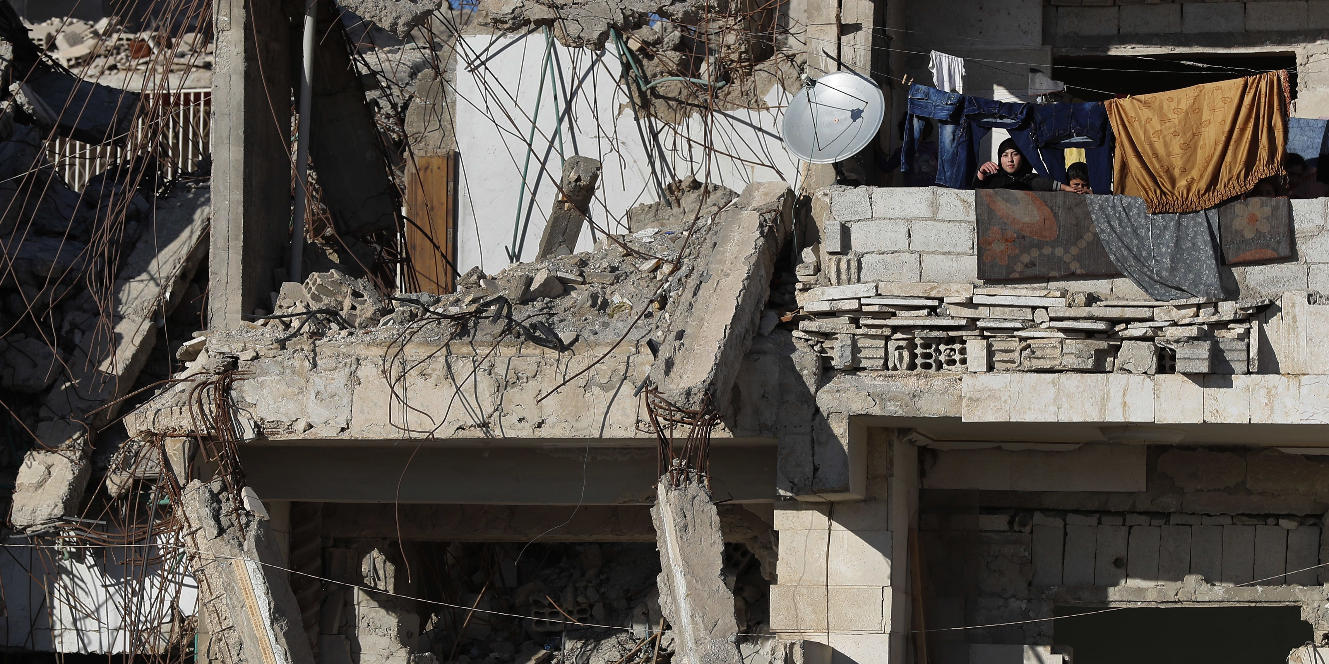 US official says troop withdrawal from Syria has started