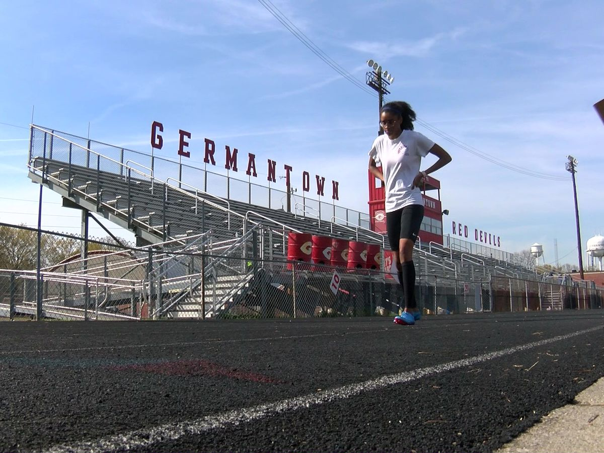 Germantown track star sets sights on 2020 Olympics