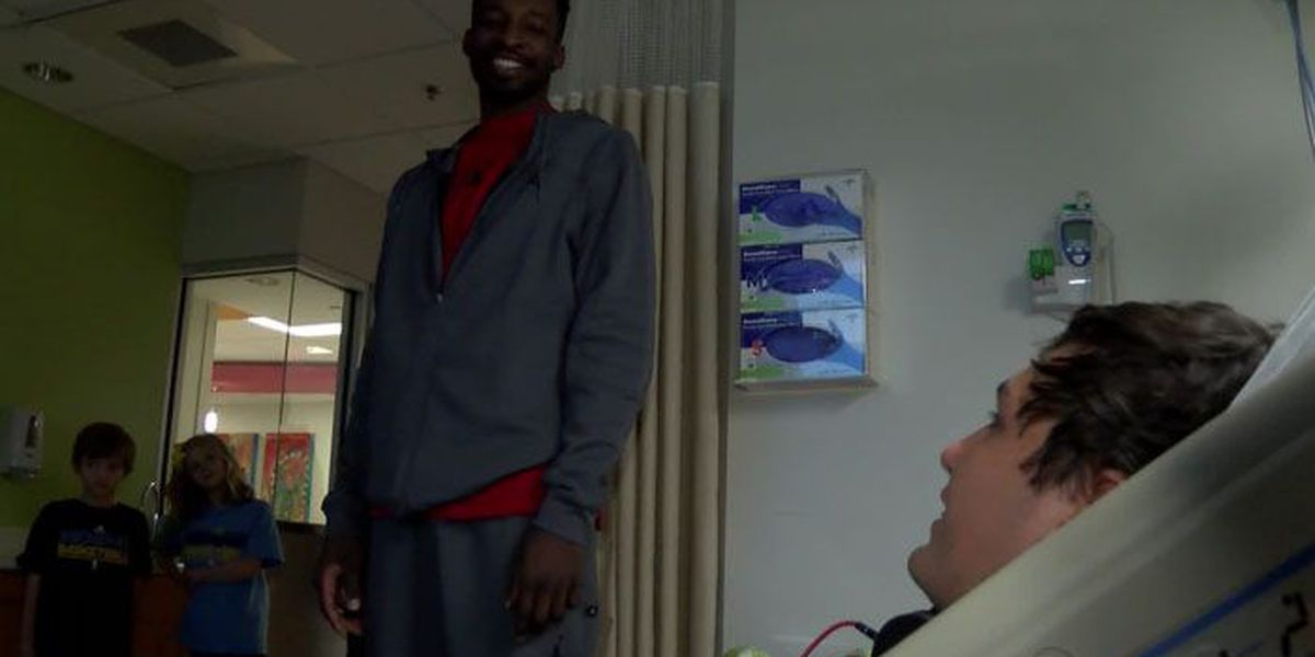 SUNDAY at 10:30.: Grizzlies player Jeff Green shares his survival story