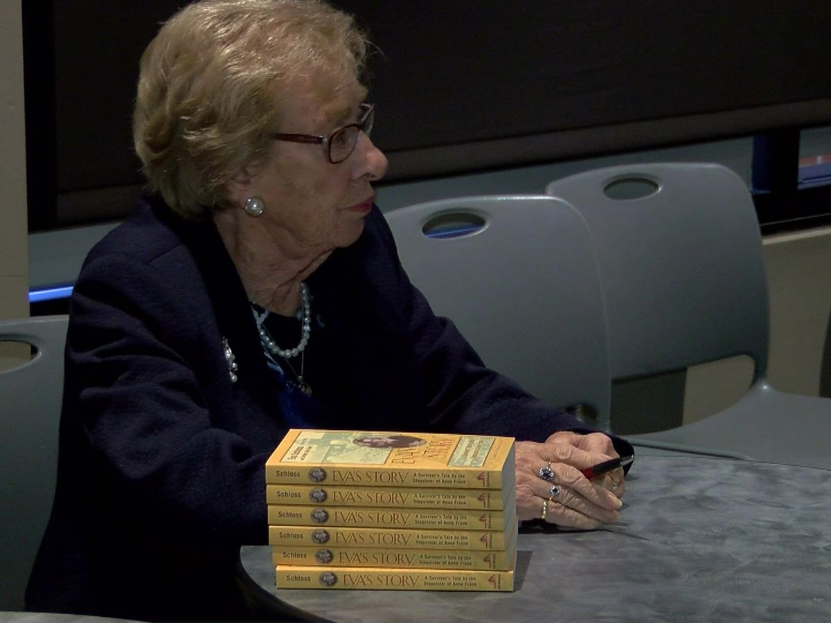 Holocaust survivor Eva Schloss encourages hope during UofM visit