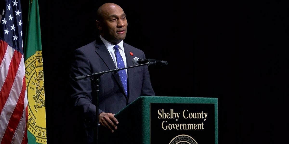 Shelby County Mayor Lee Harris gives his first State of the County address