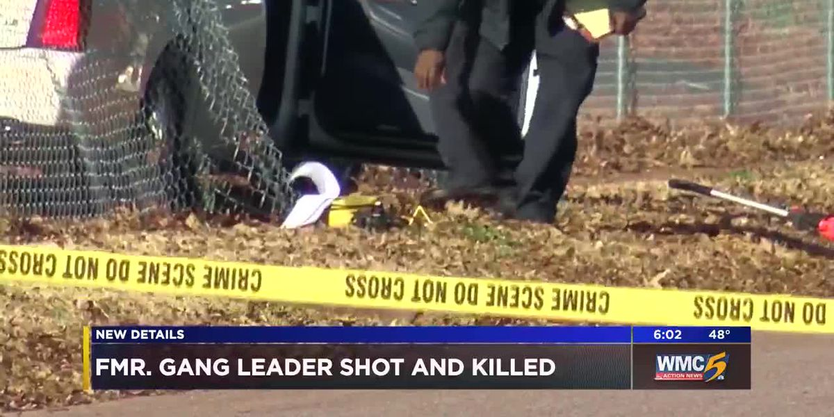 Former Memphis leader of Vice Lords gang shot, killed