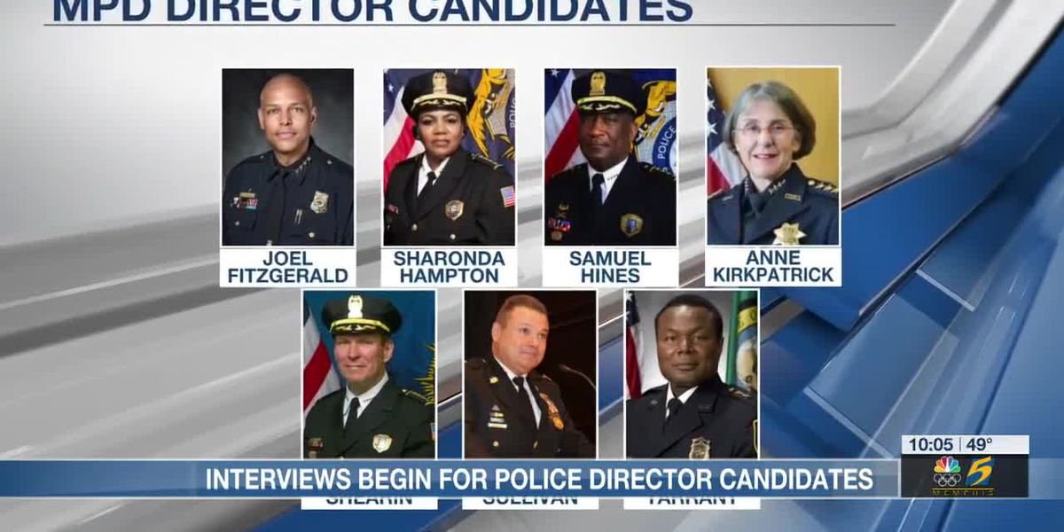 Interviews begin for police director candidates