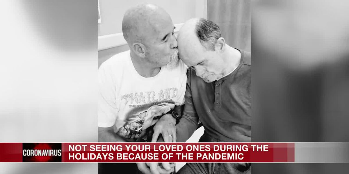 Some not able to spend the holidays with loved ones inside nursing homes
