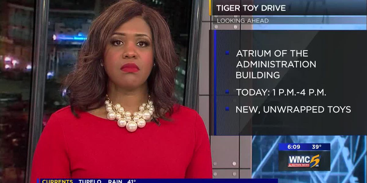 UofM holds 'Tiger Toy Drive'