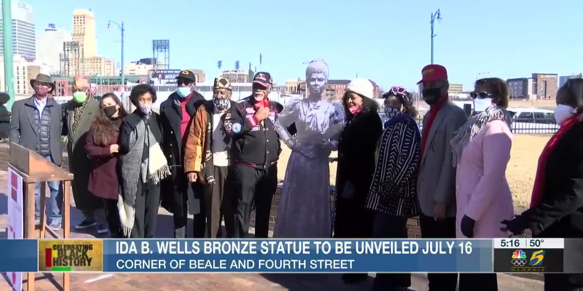 Ida B. Wells bronze statue to be unveiled July 16