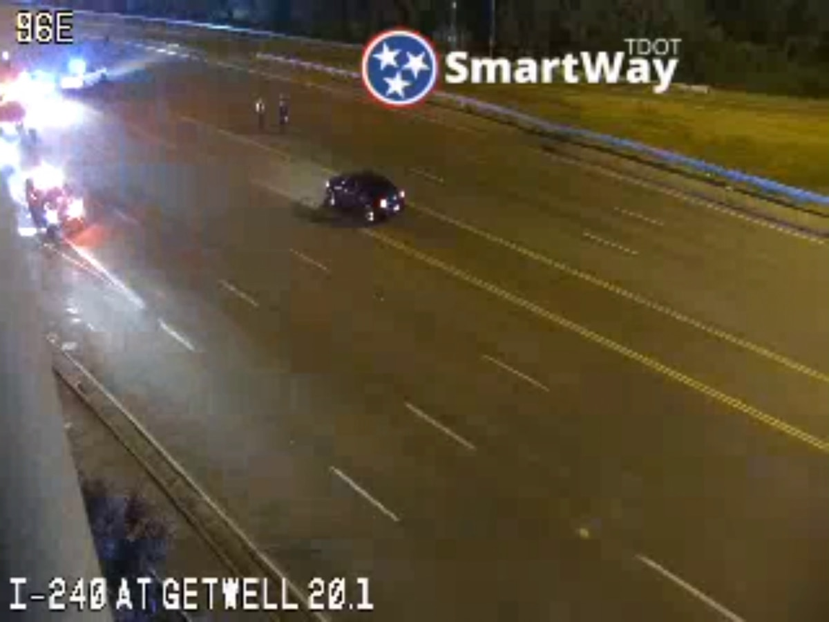 Two ejected from vehicle after crash on I-240