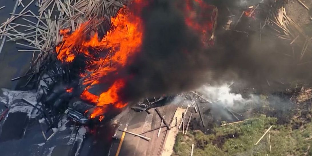 Multiple people killed in fiery multi-car pileup in Colorado