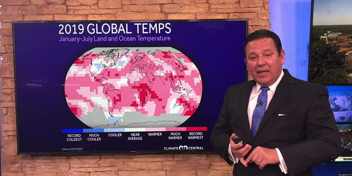 Why heat records keep increasing