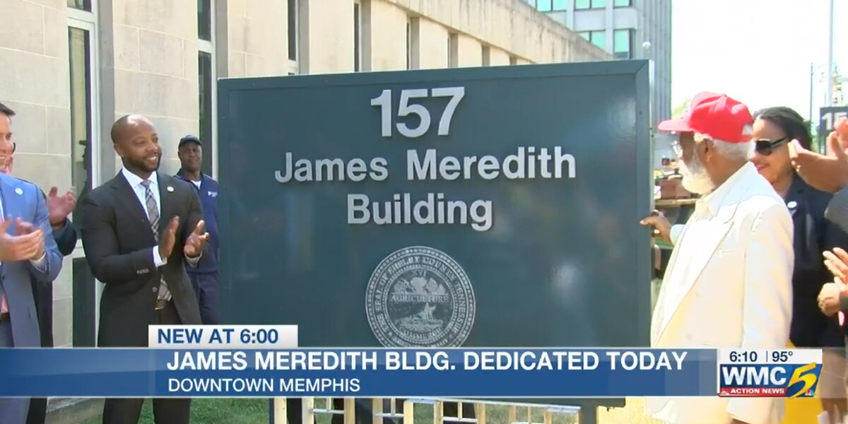 New Shelby County voting center to be named after James Meredith