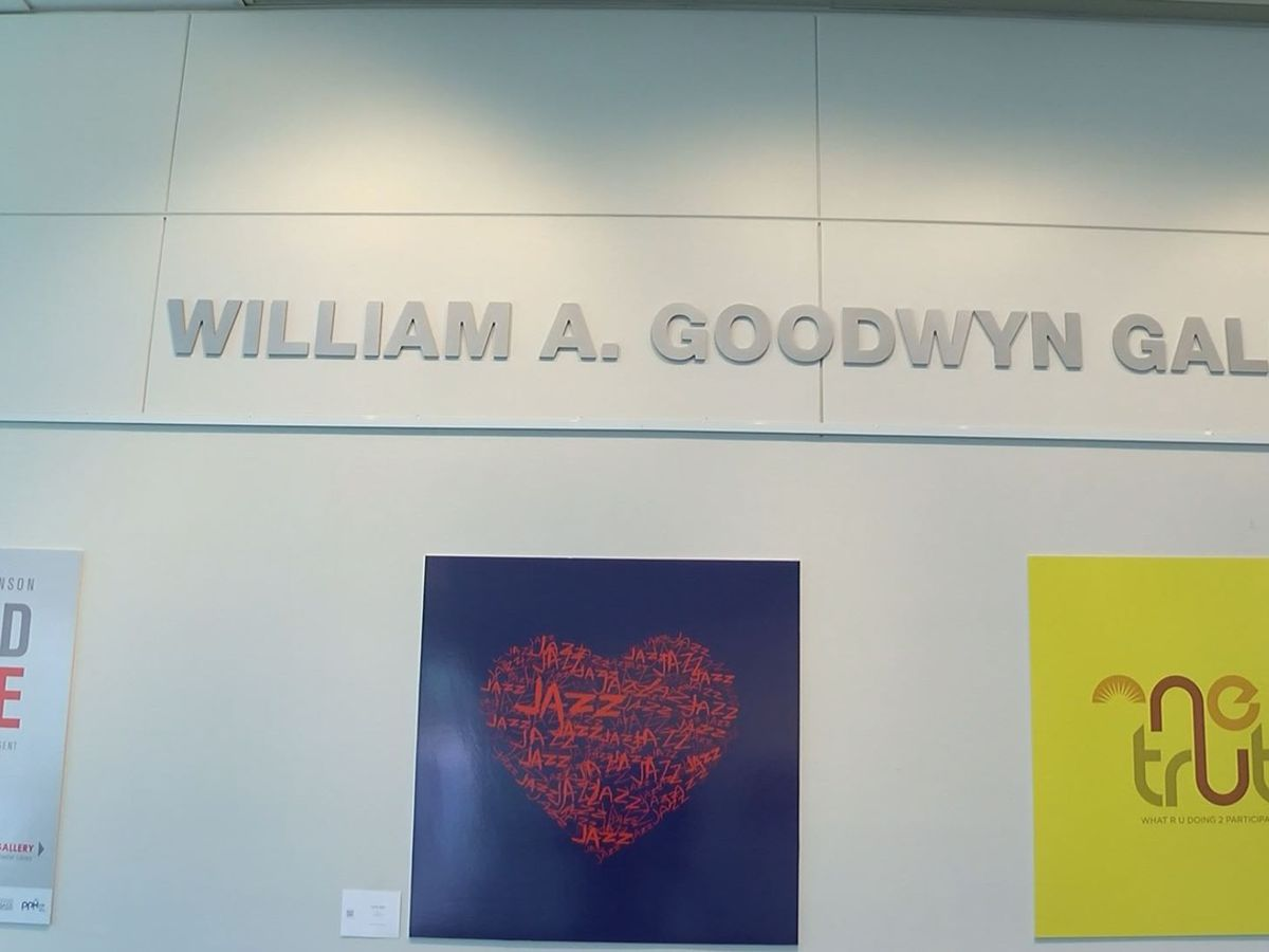 Local artist hopes to spread love with latest library exhibit