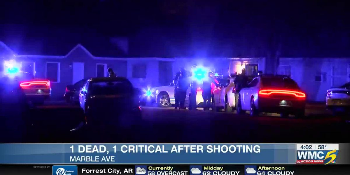 1 dead, 1 injured in deadly North Memphis shooting
