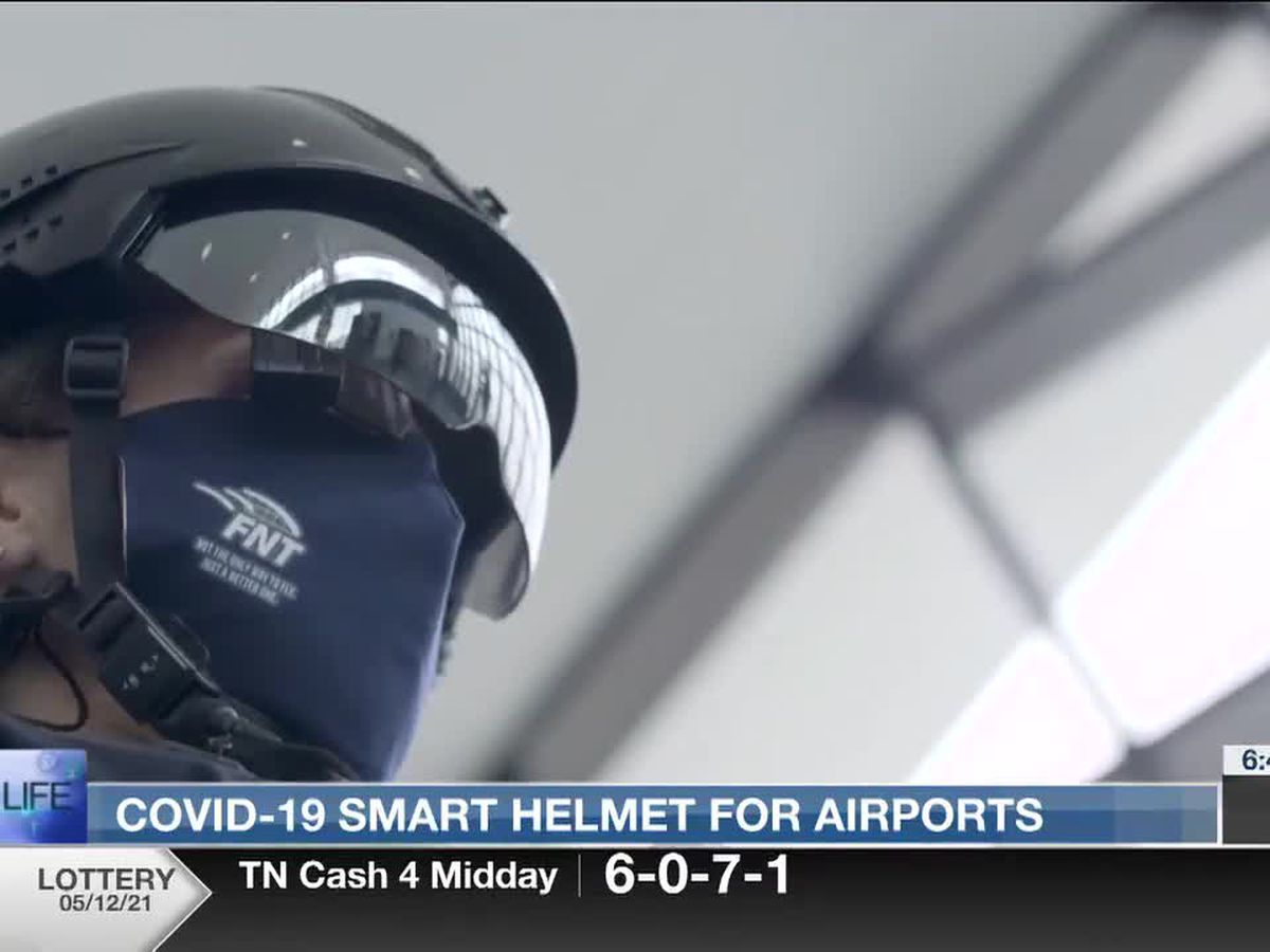 Best Life: Smart helmet detects COVID-19