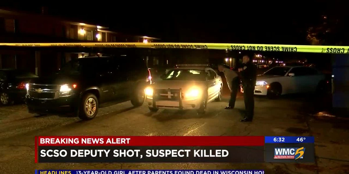 Deputy shot, suspect killed in shootout at apartment complex