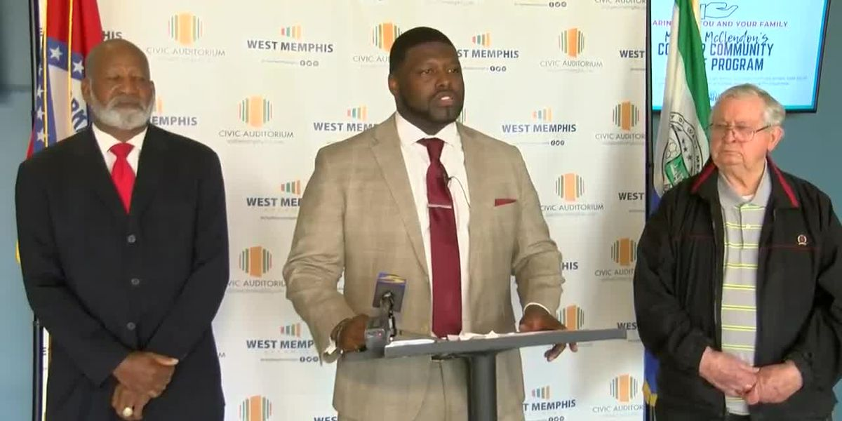 West Memphis mayor announces relief program for people impacted by COVID-19 pandemic
