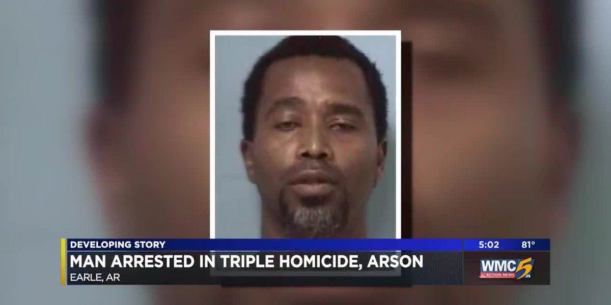 Man charged with murder after 3 found dead in house fire