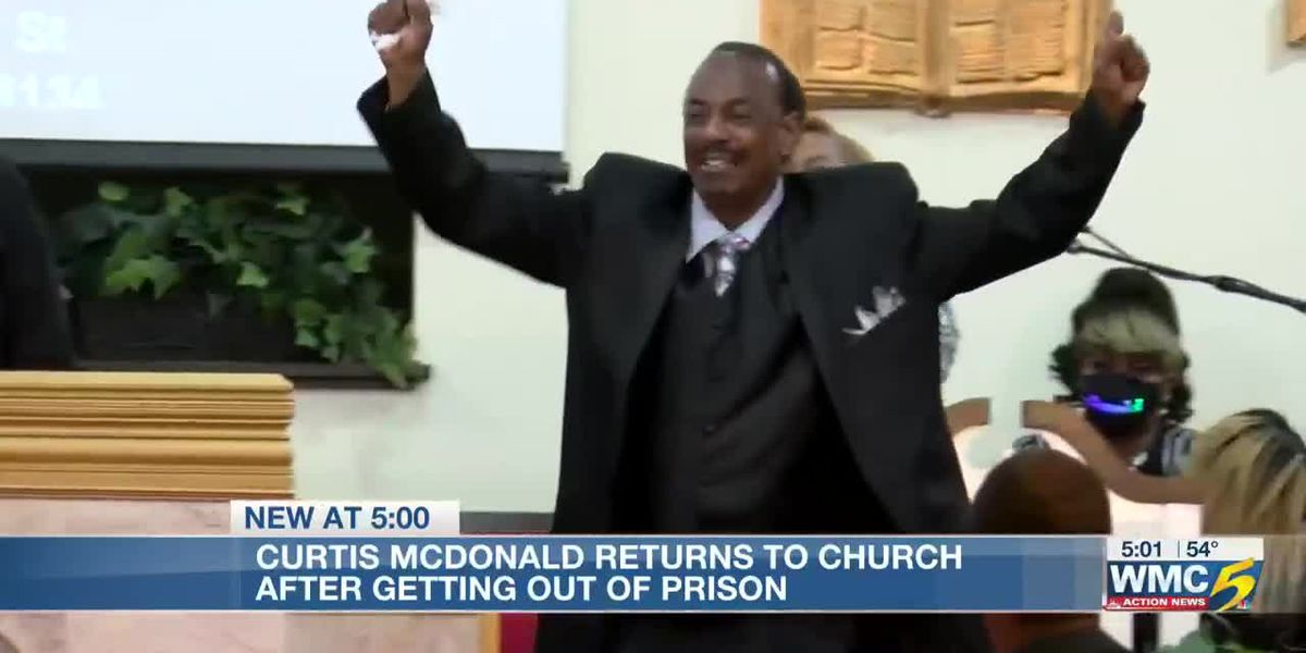 Curtis McDonald gets celebratory welcome at Bartlett church after President Trump commutes his life sentence