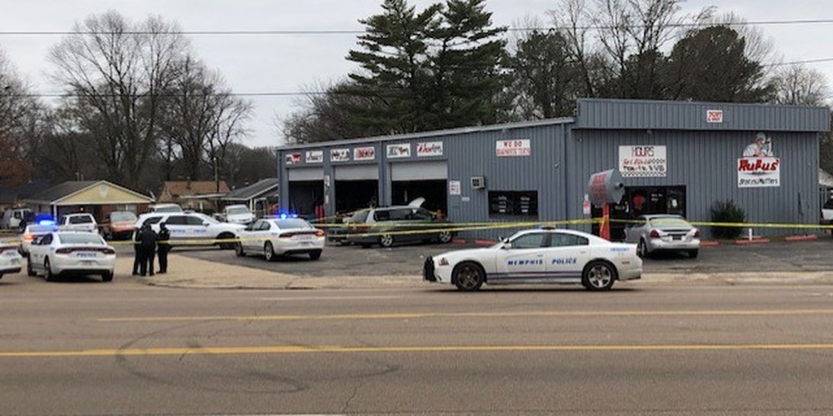 Man shot to death at discount auto part store, according to police