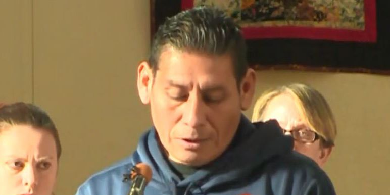 Man fights deportation by claiming sanctuary in church