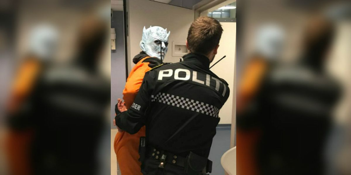 Norwegian police save Westeros, 'arrest' the Night King