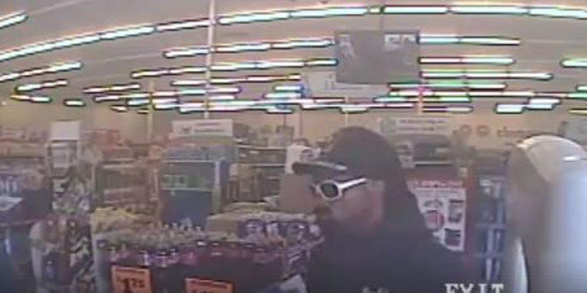 Man wearing fake beard robs Family Dollar