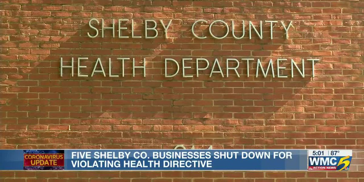 Health department forcibly closes 5 establishments over Labor Day weekend