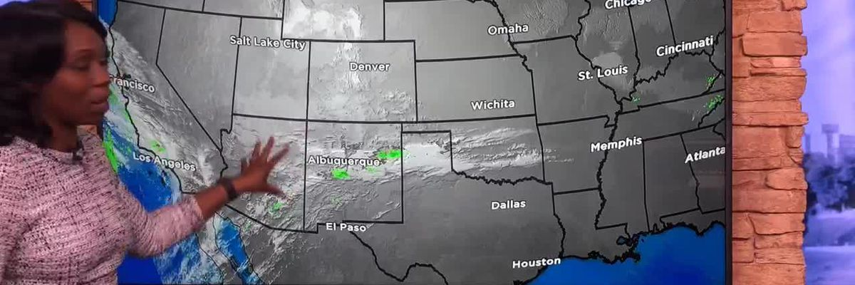 Breakdown: Why weather systems move from west to east