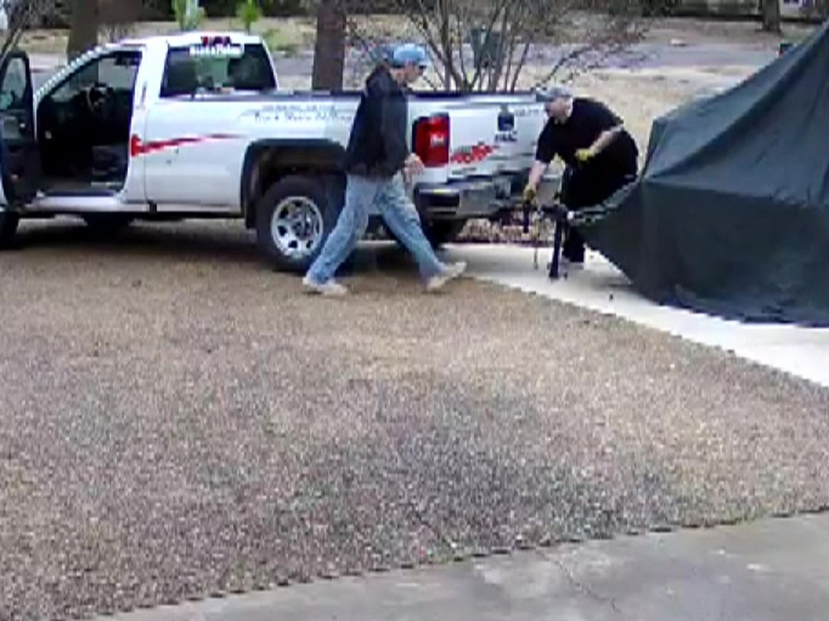 Caught on Camera: Thieves make off with loaded trailer in East Memphis