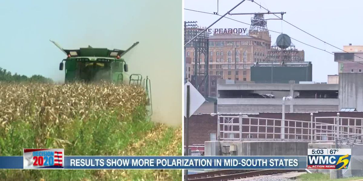 Results show more polarization in Mid-South states