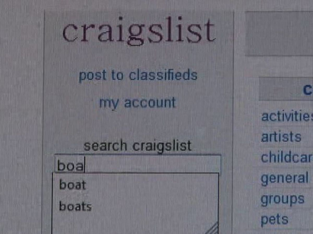Craigslist now charging to list vehicles for sale