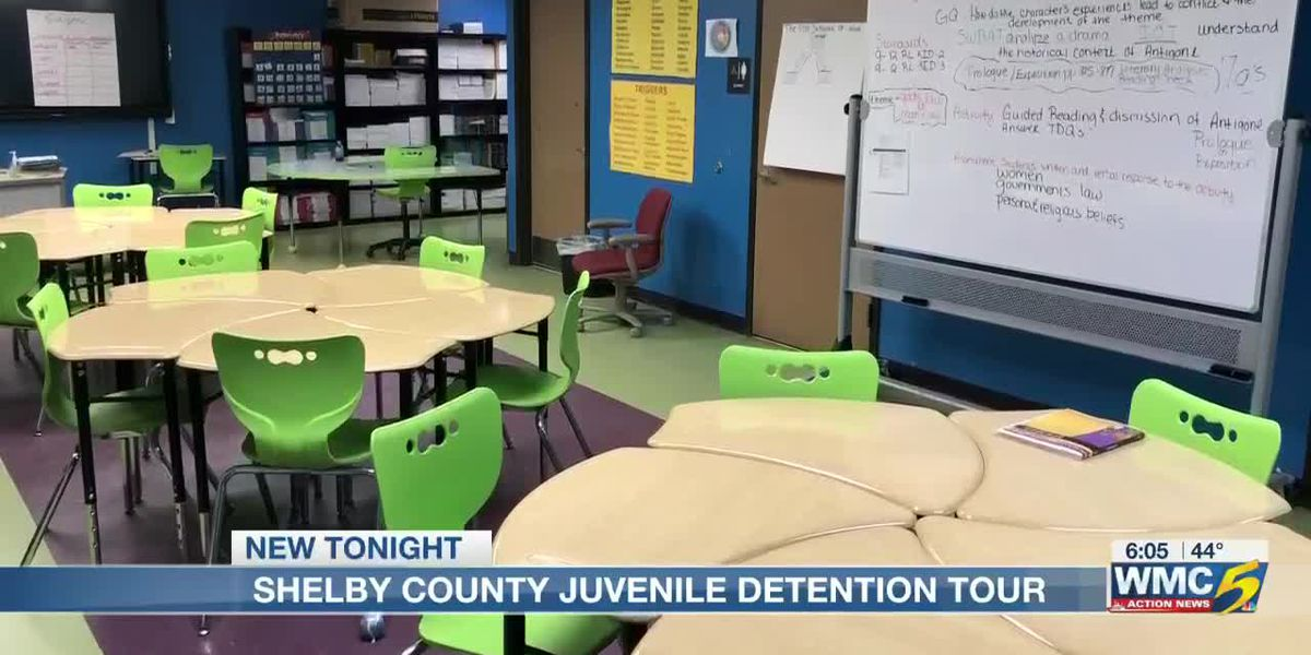 Shelby County Juvenile Detention Center opens its doors for rare behind the scene look inside