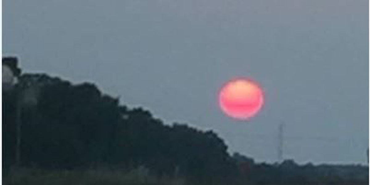 Western wildfire smoke makes for great Mid-South sunsets