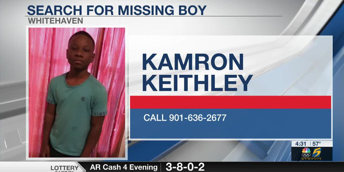 Memphis police searching for missing boy