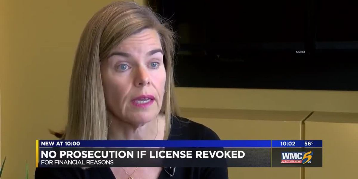 DA: No prosecution if license revoked for financial reasons