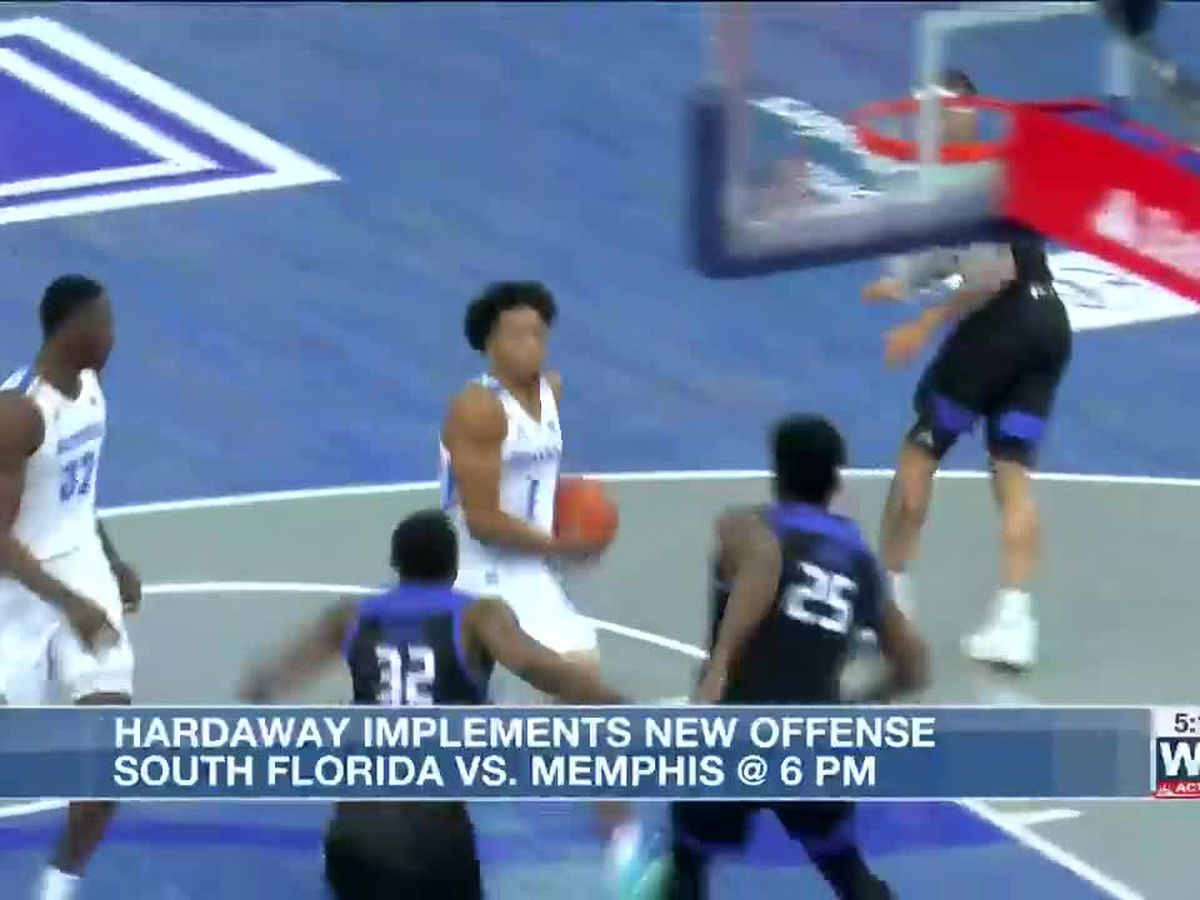 Hardaway implements new offense as Tigers take on South Florida